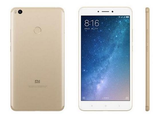 大屏手机小米Max 2发布 能为iPhone充电