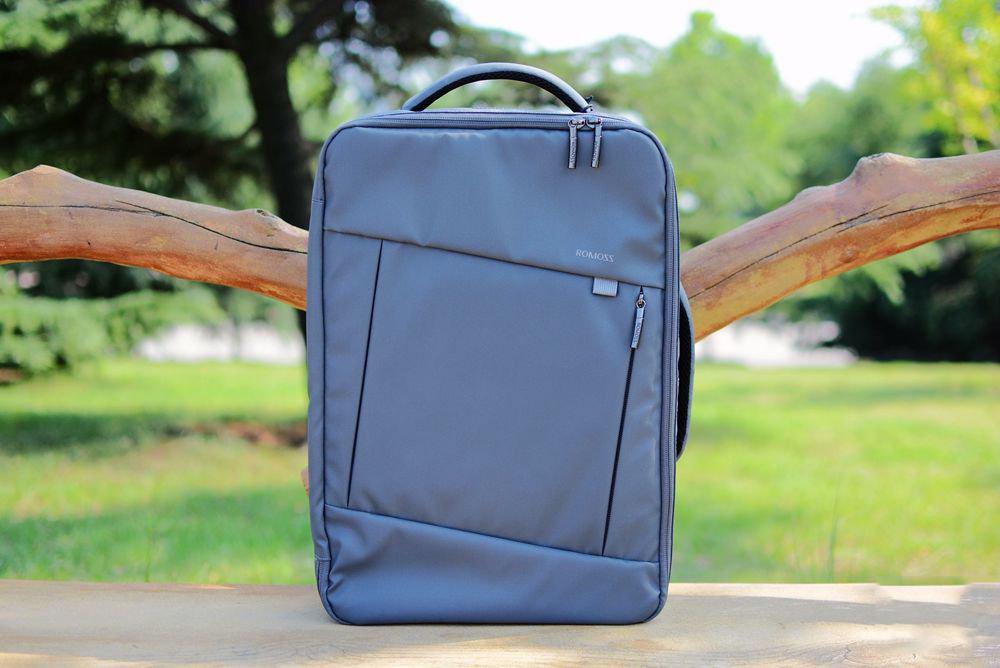 可充电的背包:l罗马仕智能背包