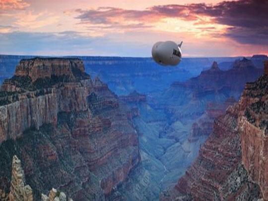 """世界最大飞行器要被打造成一艘""""空中游轮"""""""