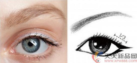 不同眼睛的眼线画法,打造完美的眼形