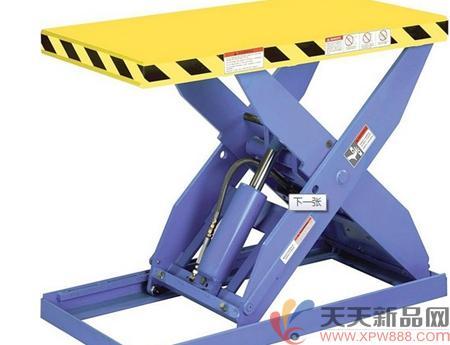 液压升降机不仅仅在工业中有重要的应用,在各类行业中也充分的发展图片