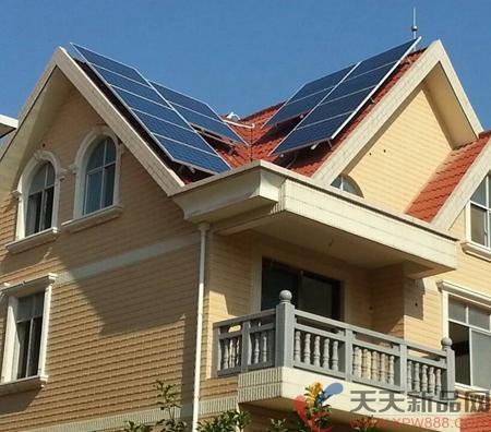 装置发电新品,装置光伏发电别墅,天天鱼池网养鱼屋顶浮莲太阳图片