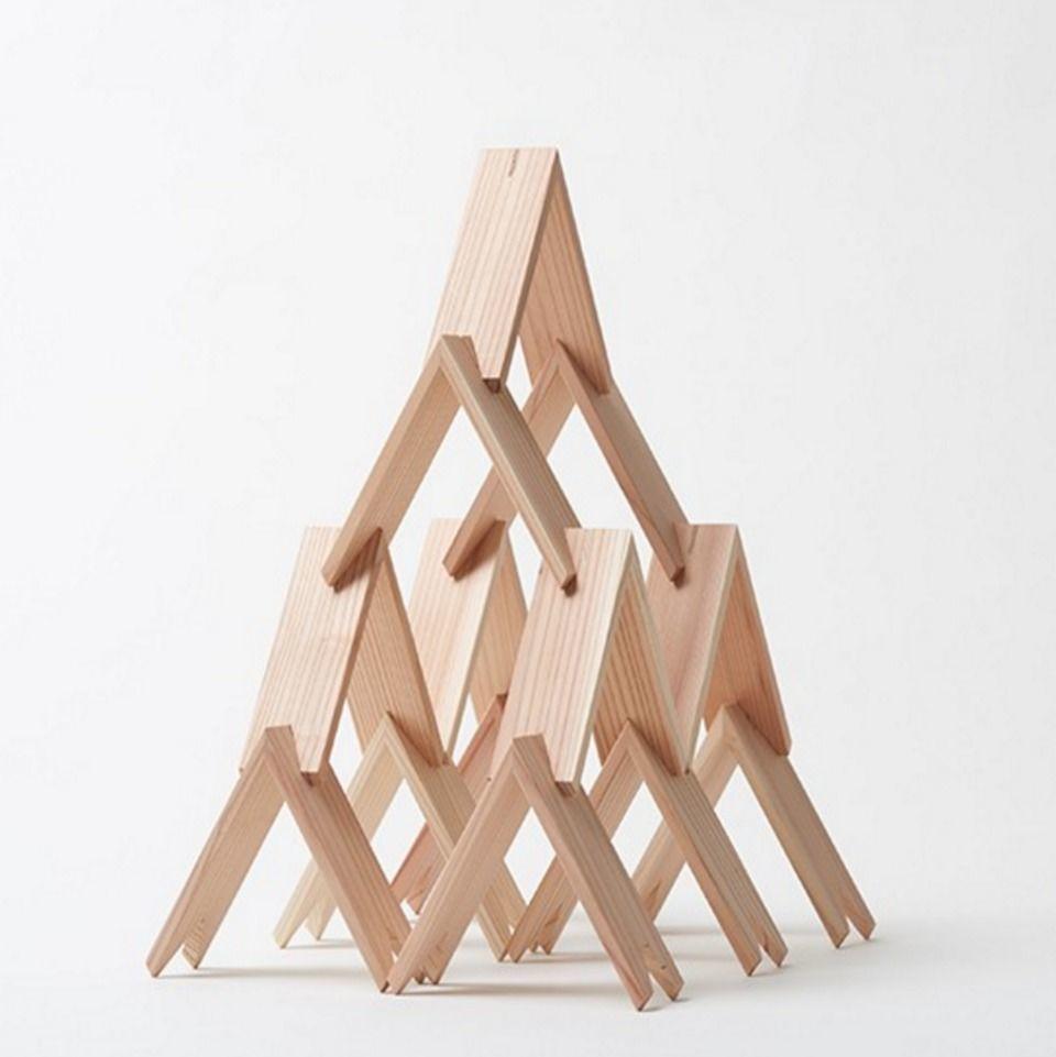 【新】三角拼接积木像日本版乐高