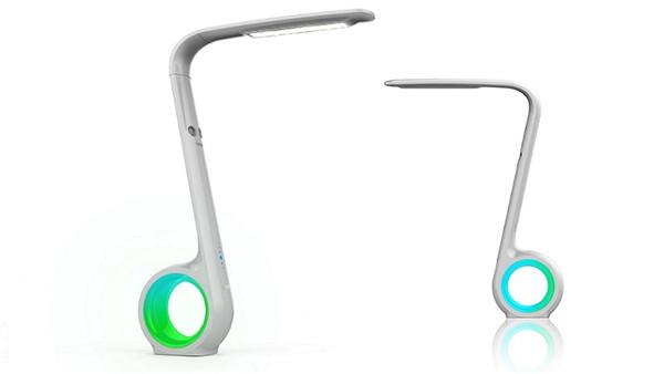 sensor智能护眼台灯 镂空设计创意十足