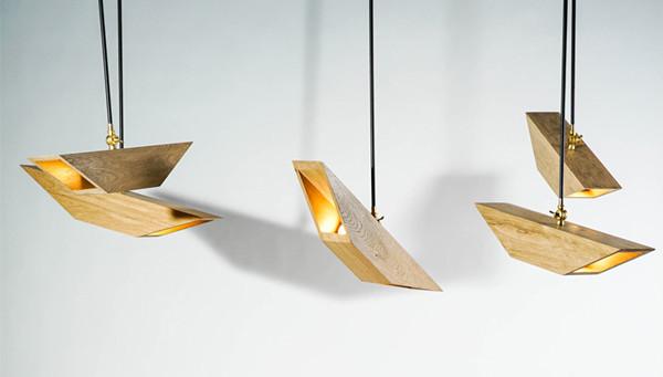 似鸟类翅膀的创意仿生灯饰