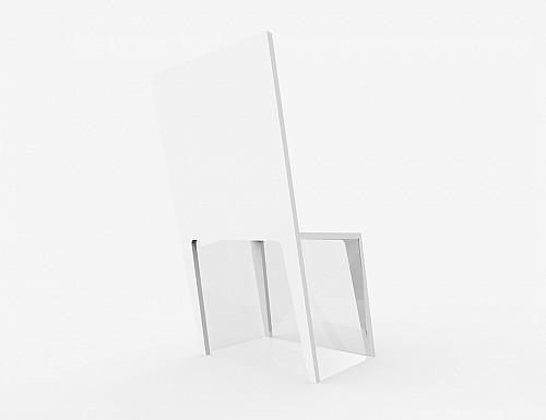 我们一般对家具这样的大件家具产品都会期望能够坚固耐用,估计有这样想法的同学一眼看到这款椅子的设计时候一定会摇头感觉不靠谱。小编也确实有这样的感觉。看起来不正,斜的。并且结构似乎还很单薄,是那种随时都能散架的感觉。   不过事实上这款椅子的家具是相当的坚固的。完美的利用了人体工程学和材料学。对于受力有着很好的研究和设计,可以将力分散和承担。   并且底部其实是有透明玻璃做支撑的。主要是一个视觉上的东西比较有看点。造型很另类。