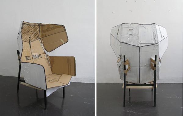 折纸状建筑风格的百搭座椅