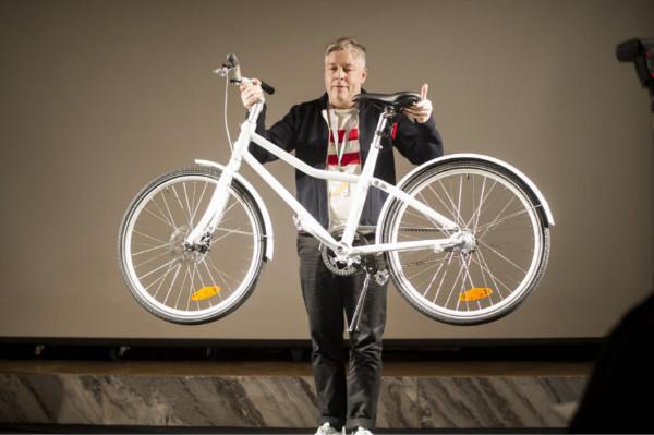 依靠皮带传动的自行车,你会买单吗图片
