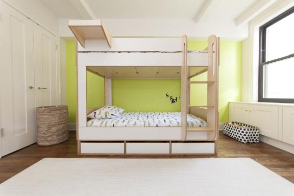 好设计: 最大限度利用空间的定制儿童床