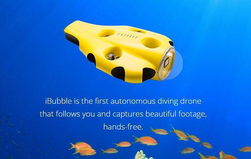 无人机ibubble带你探险海底世界