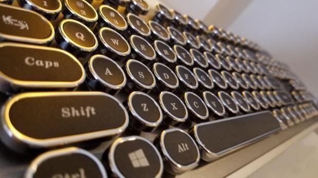 ZIO发布创意复古蒸汽朋克机械键盘,9月份将正式开售