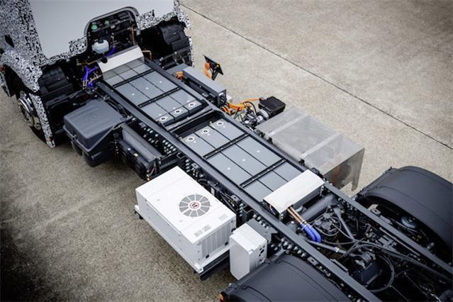 电动汽车新动态:奔驰发布卡车新品urban etruck