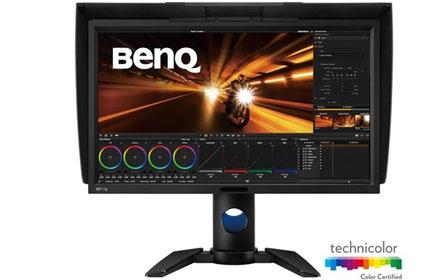 明基发布两款4k专业显示器新品,画面显示效果完美图片